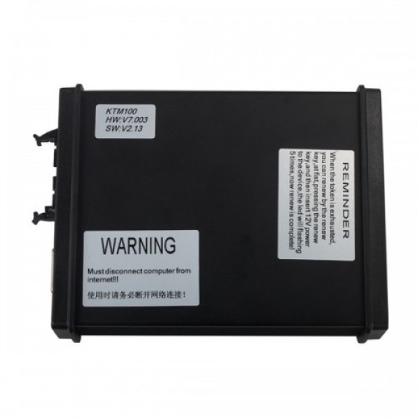 V2.13 KTM100 KTAG ECU Programming Tool Master Version Firmware V7.003 with Unlimited Token