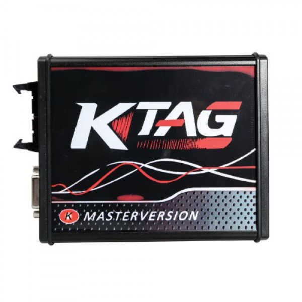 EU Version KTAG V2.25 with Red PCB 4LED Master No Tokens Limitation