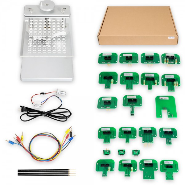 LED BDM Frame With Full BDM Probe Adapters for KESS and KTAG