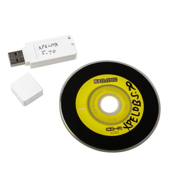 Stable Version XPROG-M V5.74 X-PROG Box ECU Programmer with USB Dongle