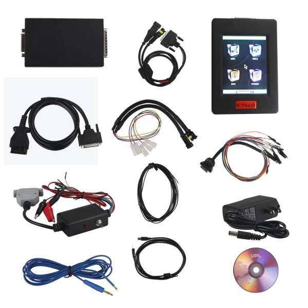 New Genius & Flash Touch Screen K-Touch K Touch OBDII/BOOT Protocols Hand-Held ECU Programmer Touch MAP
