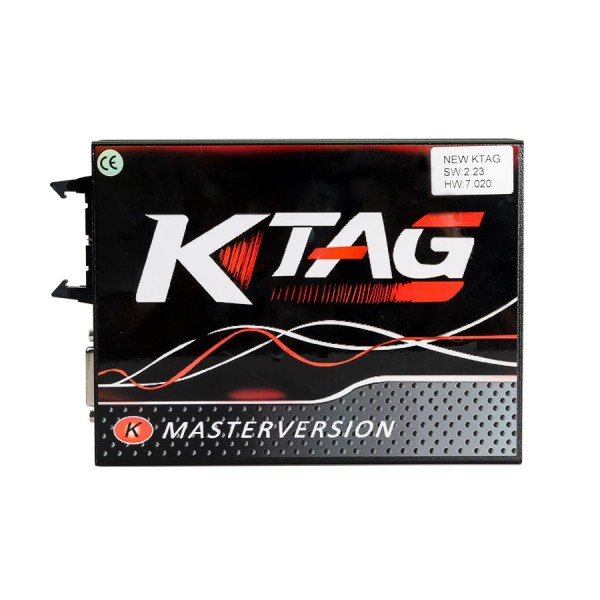 KTAG V2.25 with Red PCB Firmware V7.020 K-TAG Master No Tokens Limitation