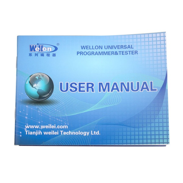 Original Wellon VP598 Upgrade Version of VP390 Universal Programmer