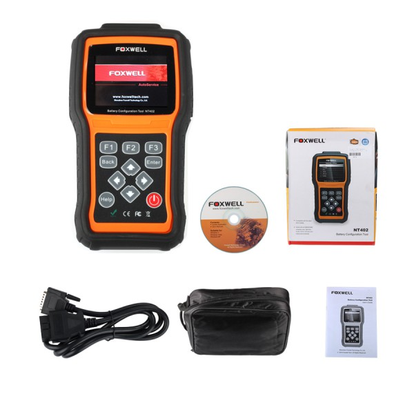 Foxwell NT402 Battery Configuration Tool