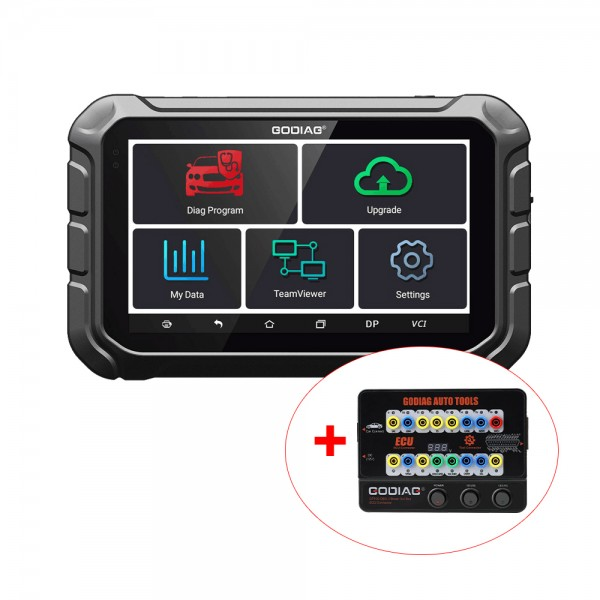 GODIAG GD801 Key Programmer Support Mileage Correction ABS EPB TPMS EEPROM Free Update Online