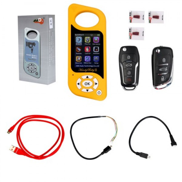 Handy Baby 2 II  Hand-held Car Key Copy Auto Key Programmer for 4D/46/48 Chips