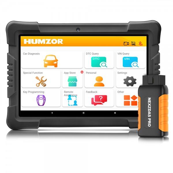 NexzDAS Pro Bluetooth Tablet Nexpeak Full System Auto Diagnostic Tool 3 Years Free Update