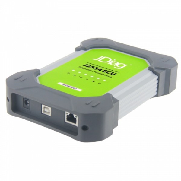 JDiag Elite II Pro J2534 Device and hard disk Support diagnosis and programming with Full Adapters