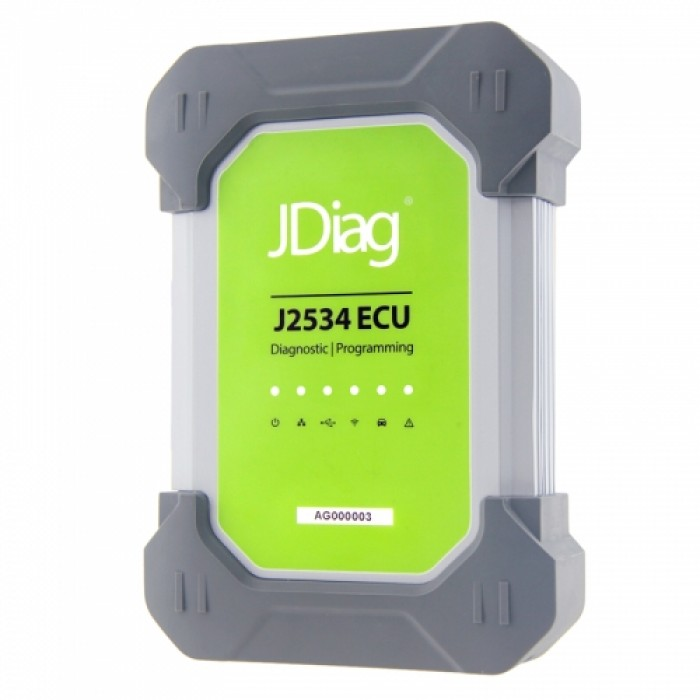 JDiag Elite II Pro J2534 Diagnostic and Programming Device for  Mercedes-Benz with HDD
