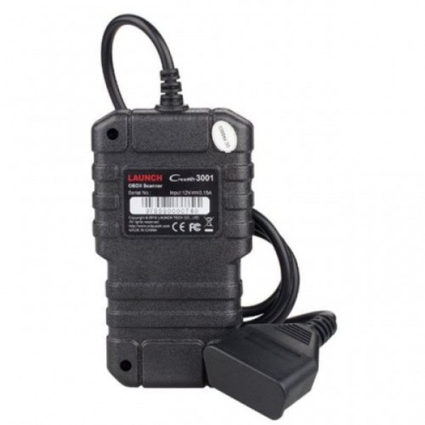 Original Launch Creader 3001 OBDII EOBD Code Scanner Emission Test Same as AL419