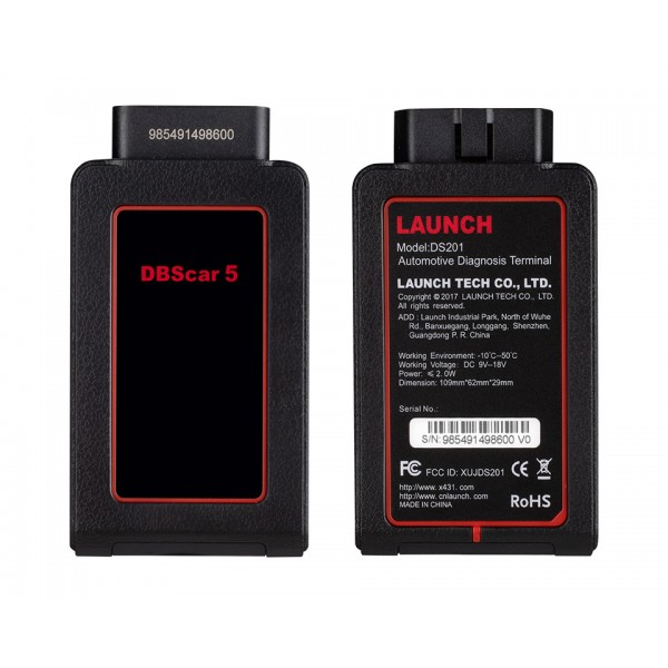 LAUNCH Official X431 Bluetooth DBScar5 Adapter Support X-431 V