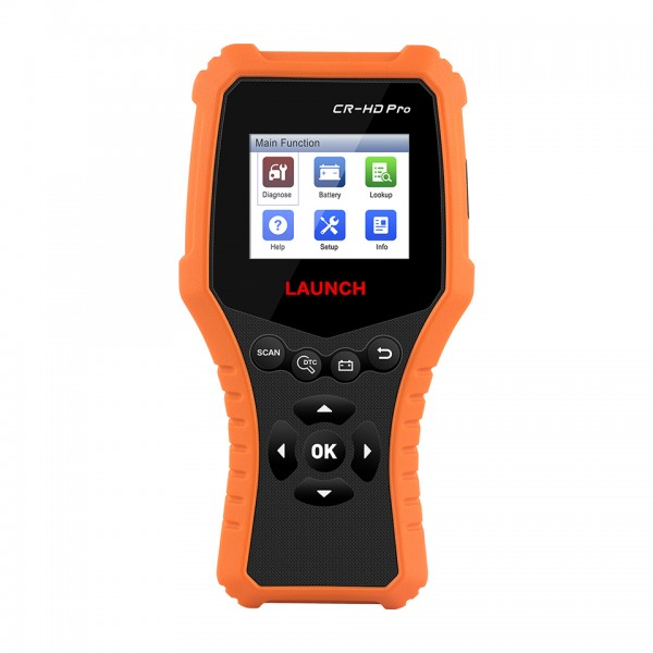 LAUNCH CR-HD Pro 12V/24V Car and Truck Diagnostic Tool
