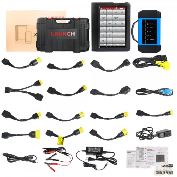 Launch X431 V+ HD Heavy Duty Truck Diagnostic Tool Free Update Online for 2 Years