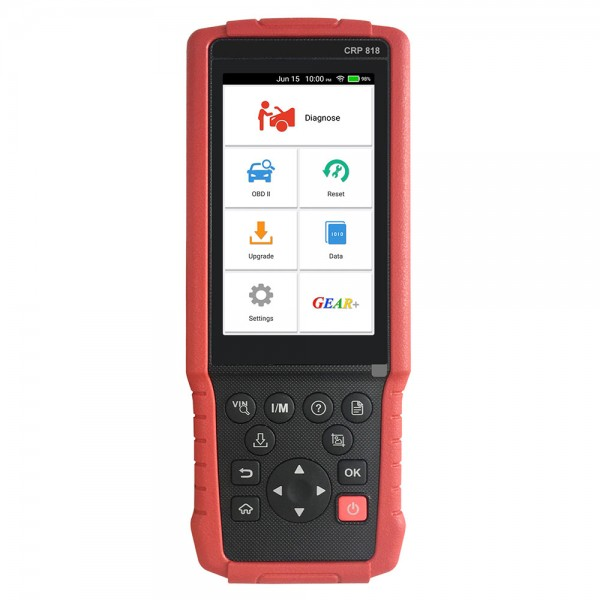 Launch CRP818 OBD2 Diagnostic Tool Full-System for European Cars
