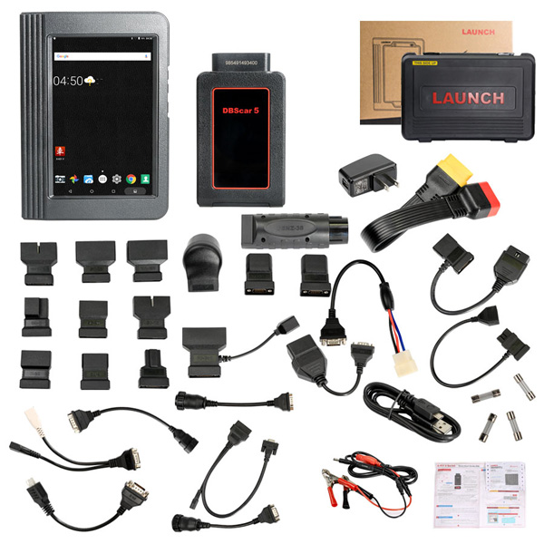 Launch X431 V 8inch Pro Diagnostic Tool Two Years Free Update Online
