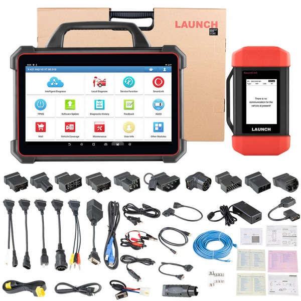 Launch X-431 PAD VII Automotive Diagnostic Tool PAD 7 Support Online Coding Programming and ADAS Calibration