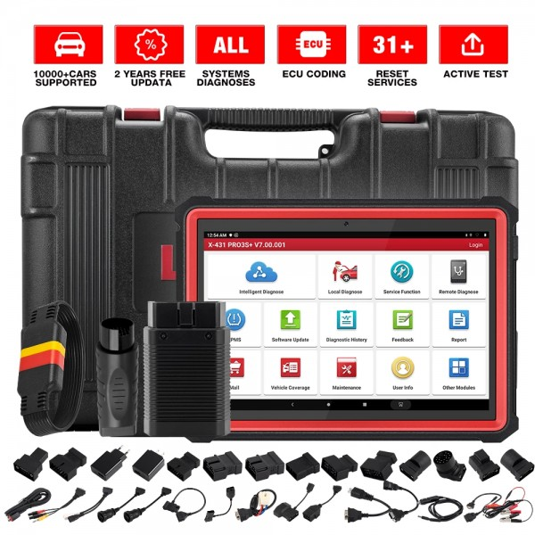 New Arrival LAUNCH X431 PRO3S+ Professional Diagnostic Tool With 2 Year Free Update