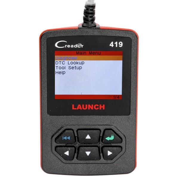 Launch CReader 419 DIY Scanner OBDII/EOBD Auto Diagnostic Scan Tool Code Reader