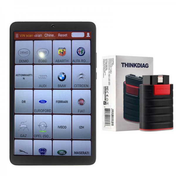 Original Launch Thinkdiag for Android with full 229 cars software with tablet PC Replacement Of X431 IV/V