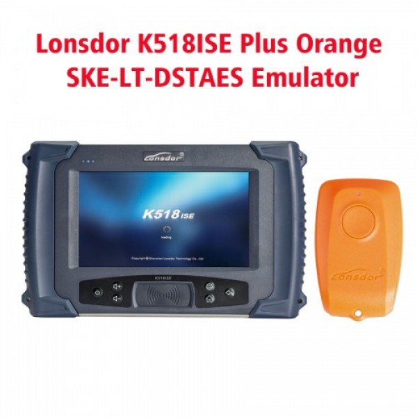 Lonsdor K518ISE 100% Original  Key Programmer Plus Orange SKE-LT-DSTAES Emulator Support Toyota 39 (128bit) Smart Key All Lost