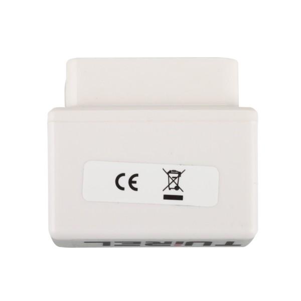 Super MINI ELM327 Bluetooth OBD2 V2.1 White Smart Car Diagnostic Interface