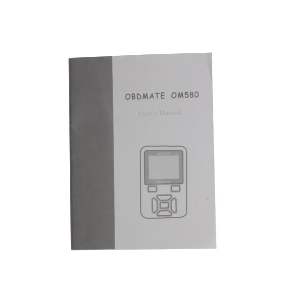 OBDMATE OM580 OBDII EOBD Code Read Scanner