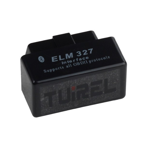 MINI ELM327 Bluetooth Version OBD2 Diagnostic Scanner Firmware V2.1 (Black)