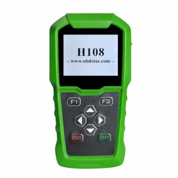 OBDSTAR H108 PSA Programmer Support All Key Lost/Cluster Calibrate for Peugeot/Citroen/Pin Code Reading