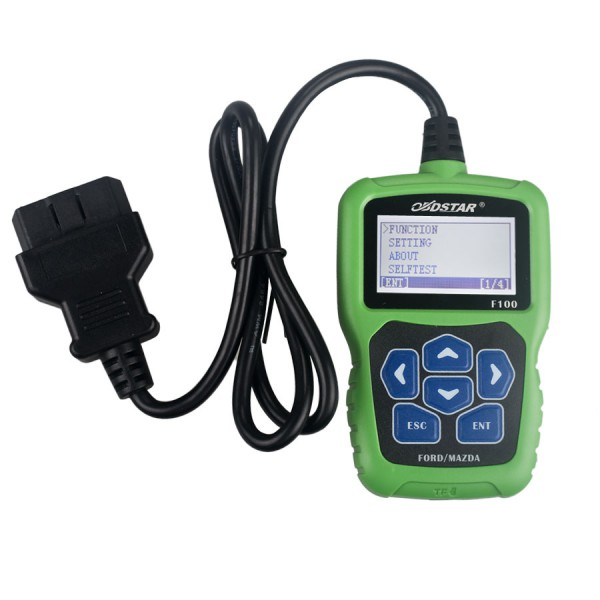 OBDSTAR F100 Mazda/Ford Auto Key Programmer No Need Pin Code Support New Models and Odometer
