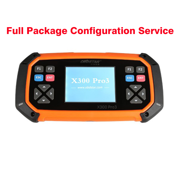 Service to Get OBDSTAR X300 PRO/X300 DP Key Master Full Package Configuration