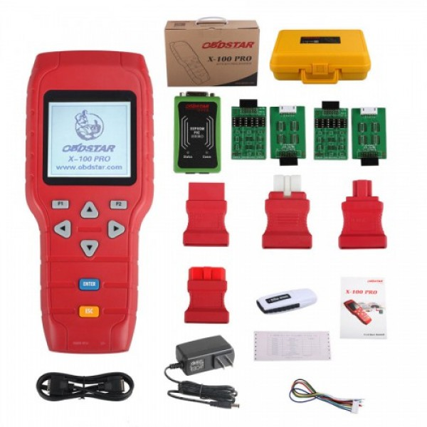 OBDSTAR X-100 PRO  Auto Key Programmer (C) Type for IMMO and OBD Software Function Get EEPROM Adapter