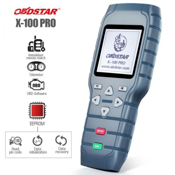 OBDSTAR X-100 PRO Auto Key Programmer (C+D) Type for IMMO+Odometer+OBD