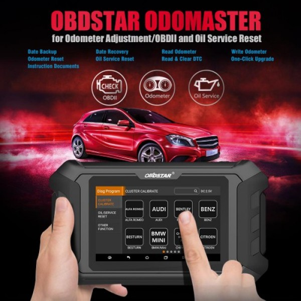 OBDSTAR ODO Master X300M+ for Odometer Adjustment/OBDII and Special Functions