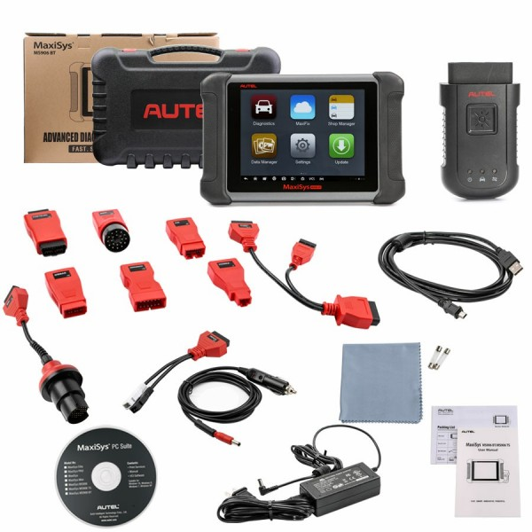 AUTEL MaxiSys MS906BT Advanced Wireless Diagnostic Devices with bluetooth for Android Operating System 1 Year Free Update
