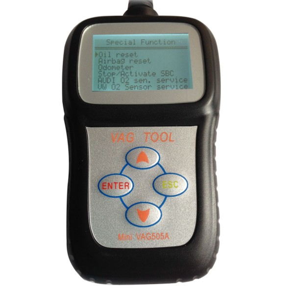 Black Mini VAG505A VAG Scanner Multi Language
