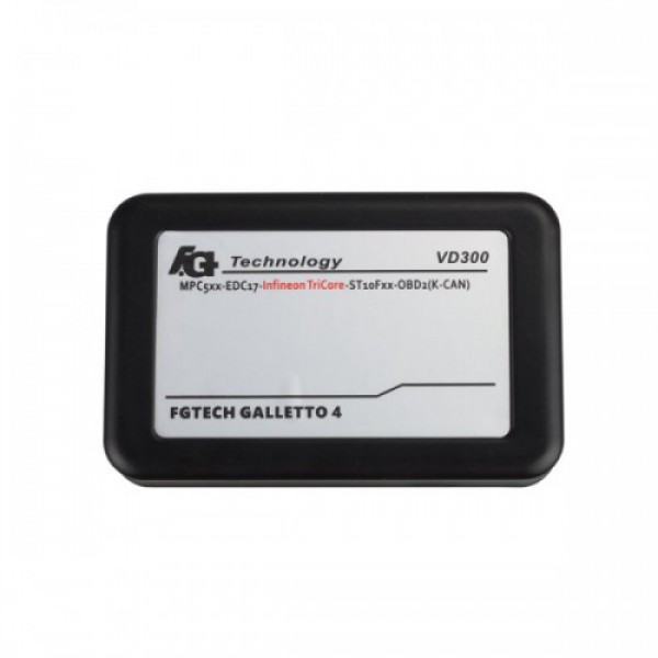 Latest Version VD300 V54 FGTech Galletto 4 Master BDM-TriCore-OBD Function