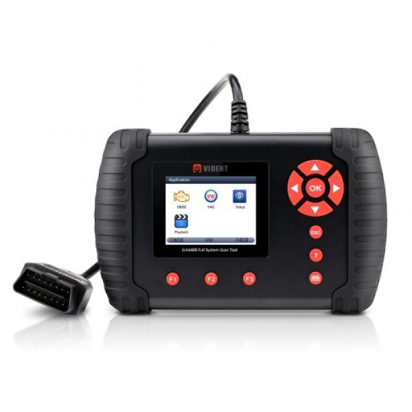 VIDENT iLink400 Full System Scan Tool Single Make Support ABS/SRS/EPB//DPF