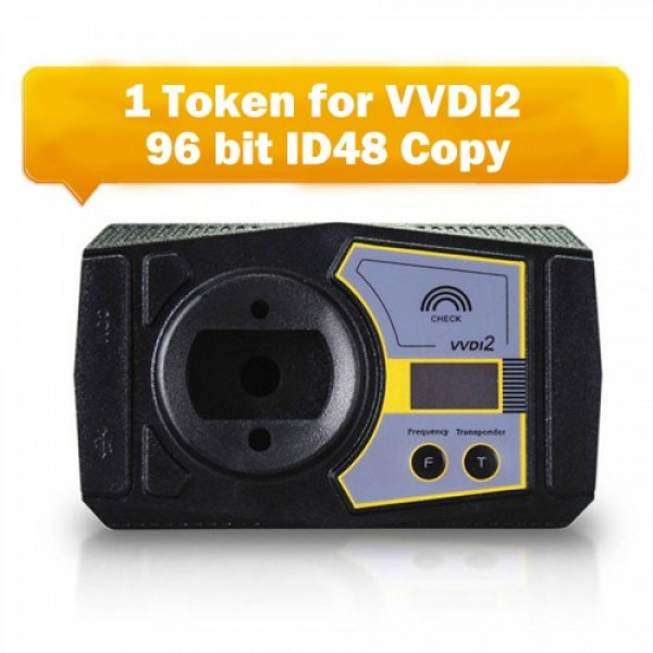 1 Token for Xhorse VVDI2 96 bit ID48 Copy