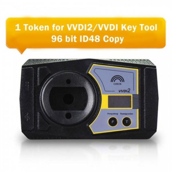 1 Token for Xhorse VVDI2 96 bit ID48 Copy