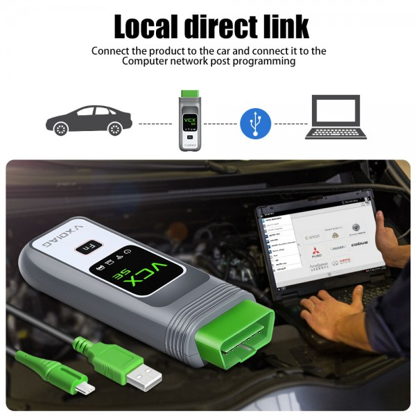 VXDIAG VCX SE for Benz with 2TB Full Brands SSD Get Free Donet License