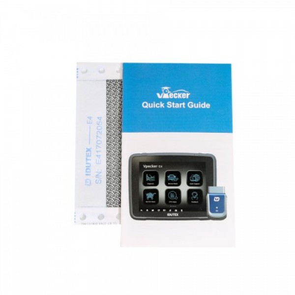 VPECKER E4 Phone Bluetooth Full System OBDII Scan Tool