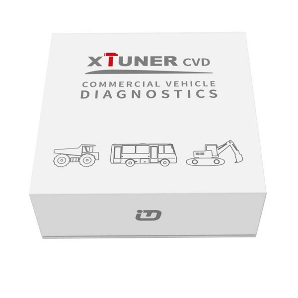 XTuner CVD Heavy Duty Scanner XTUNER Bluetooth CVD-9 on Android Commercial Vehicle Diagnostic Adapter