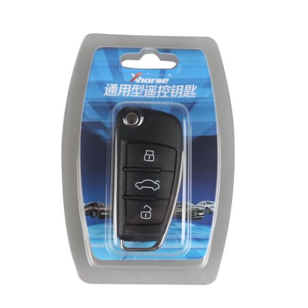 XHORSE VVDI2 Audi A6L Q7 Type Universal Remote Key 3 Buttons