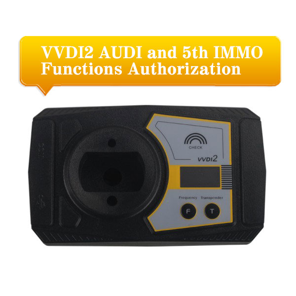 VVDI2 AUDI and 5th IMMO Functions Authorization Service