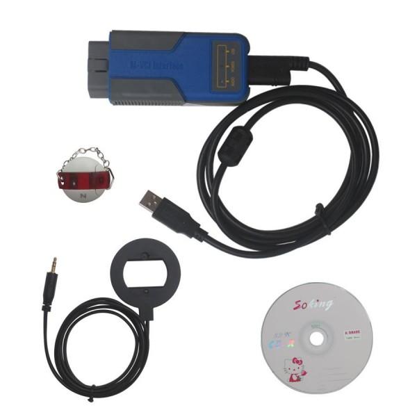 Xhorse BMW Multi Tool V7.7 OBD2 CAS1-4 Key Programmer Get Free Encrypted BMW CAS4
