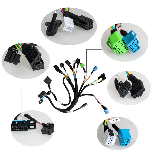 EIS/ESL cable+7G+ISM + Dashboard Connector works with VVDI MB BGA Tool