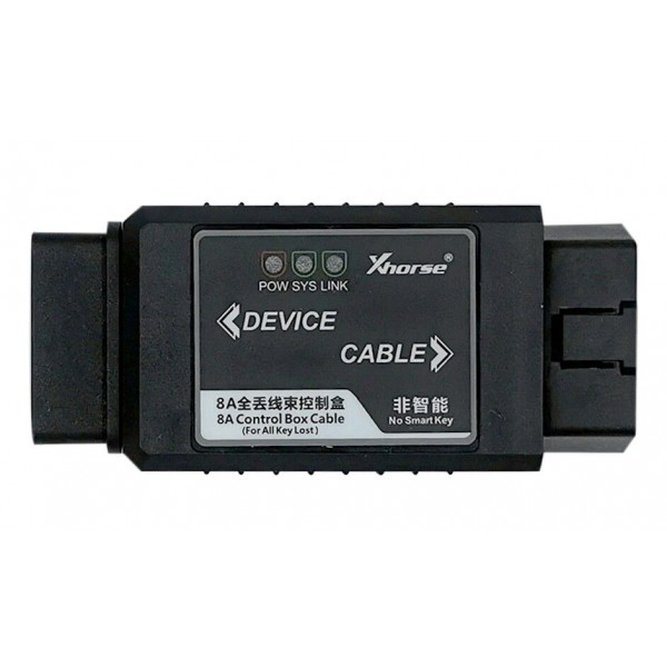 Xhorse Toyota 8A Non-Smart Key All Keys Lost Adapter