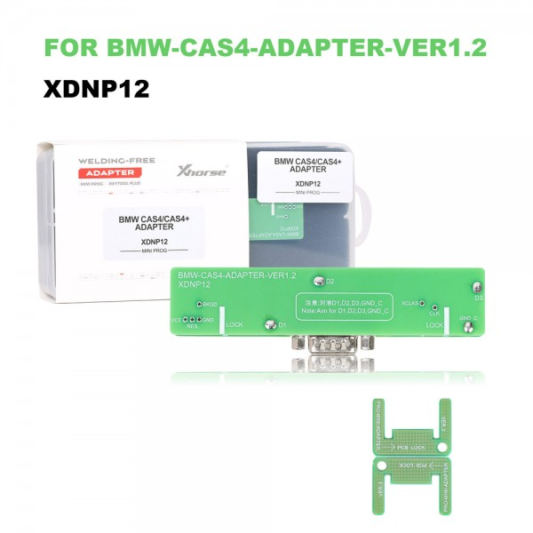 Xhorse Solder-Free Adapters and Cables Full Set XDNPP0CH 16pcs Work with MINI PROG and KEY TOOL PLUS