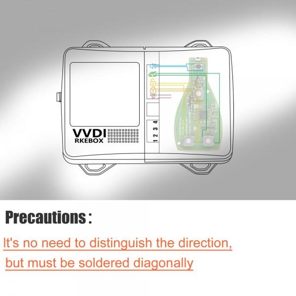 Xhorse Smart Key Box XDSKE0EN Bluetooth Adapter