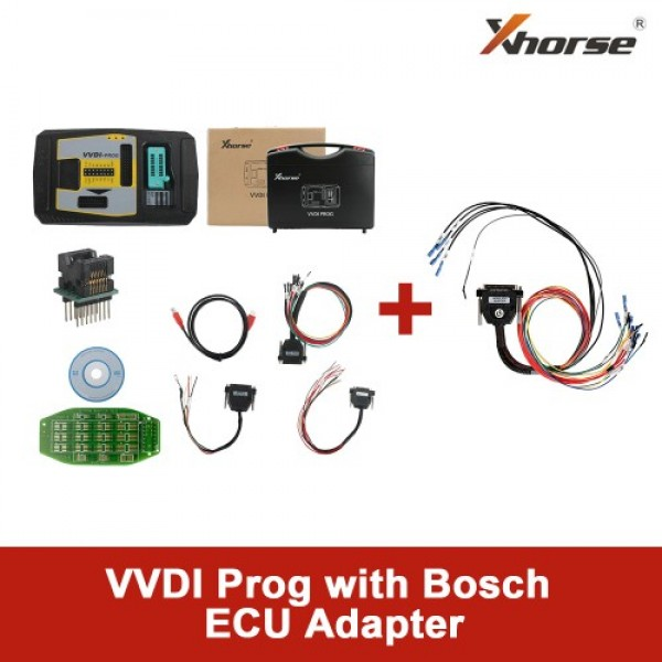 Original Xhorse VVDI Prog Programmer with Bosch ECU Adapter